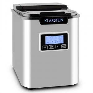 Klarstein ICE6 Icemeister, aparat za pripremu kockica leda, 12 kg / 24 h., Od nehrđajućeg čelika, crni